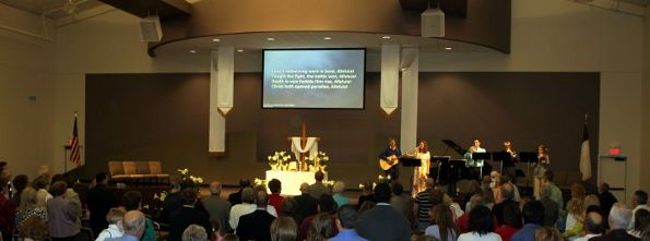 Image from Living Word Free Lutheran Church's 2010 Resurrection Service